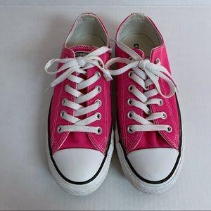 Hot Pink Converse All Star Chucks